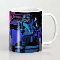 garrus Mugs featuring World Without Law by Weissidian