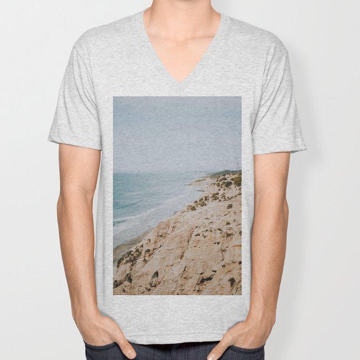 California Coast Unisex V-Neck