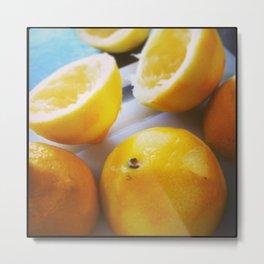 Spent Lemons Metal Print