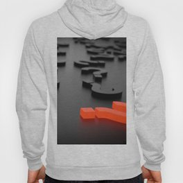 3D The Question Mark Hoody