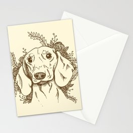 Sausage Stationery Cards