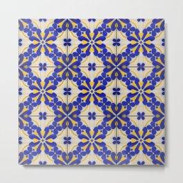 Tiles - VIII Metal Print