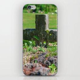 Alpine flower iPhone Skin