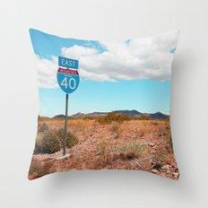 Interstate Throw Pillow