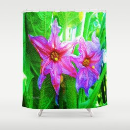 Hidden Gems Shower Curtain