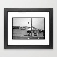 A National Landmark Framed Art Print