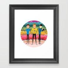 Strange New Worlds Framed Art Print