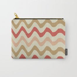 Stripes and waves trend Carry-All Pouch