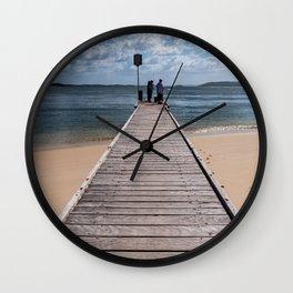 Little Beach Reserve, Nelson Bay Wall Clock
