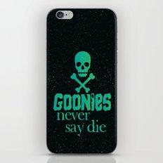 Goonies never say die iPhone & iPod Skin