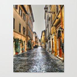 Trastevere Canvas Print