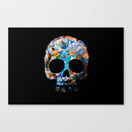 Death Flower Canvas Print