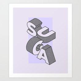 BTS suga Art Print