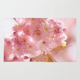 Sakura - Cherryblossom - Cherry blossom - Pink flowers Rug
