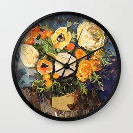 Tin Can Studio Floral #3 Wall Clock