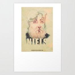 Niels (2014) Art Print