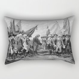 Surrender Of Cornwallis At Yorktown Rectangular Pillow