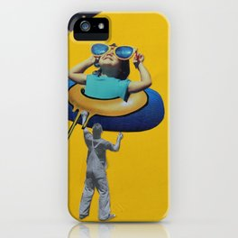 Be Supportive iPhone Case