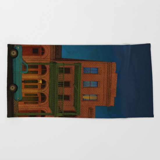 The Visitor Beach Towel