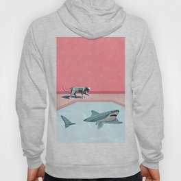 Shark and Kitty Hoody