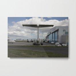Cityjet hangar, Dublin Airport. Avro RJ85, BAe 146 EI-RJJ and EI-RJT Metal Print