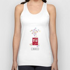 cereal ad Unisex Tank Top