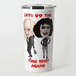 Rocky Horror Picture Show Time Warp Travel Mug