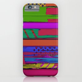 Urban shift iPhone Case