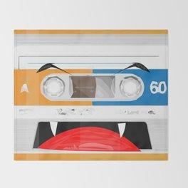 The cassette tape Vampire Throw Blanket