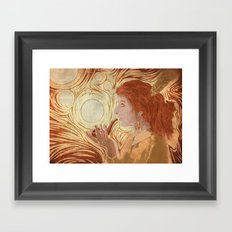 Puff Puff Framed Art Print