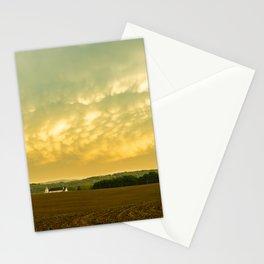 Storm over a Pennsylvania Farm Stationery Cards