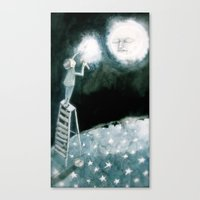 coldplay Canvas Prints featuring lights will guide you home... by meme