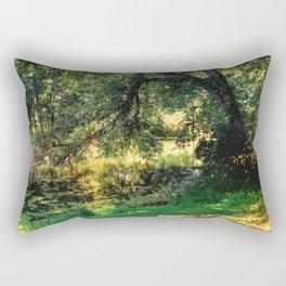 On Allerton Pond Rectangular Pillow