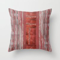 rustic Throw Pillows featuring Rustic by Mirabella Market