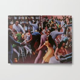 Nightlife by Archibald Motley Metal Print