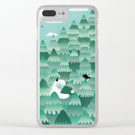 Tree Hugger (Spring & Summer version) Clear iPhone Case