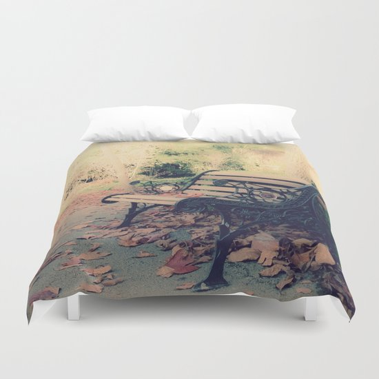 The Bench Duvet Cover
