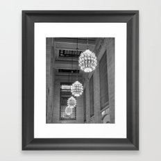 Grand Central Station, NYC Framed Art Print