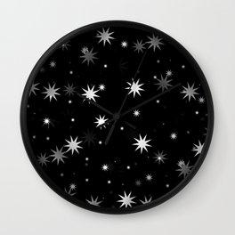 Starry Stars II Wall Clock