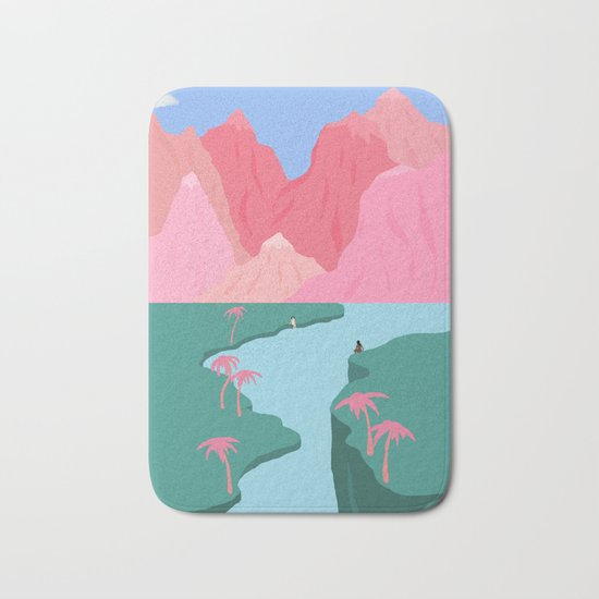 Girls' Oasis Bath Mat