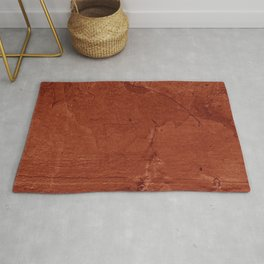 Red Clay and Concrete  Rug