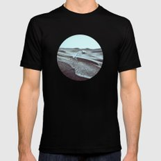 Distance Is Darkness MEDIUM Black Mens Fitted Tee
