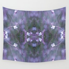 melancholy flowers Wall Tapestry