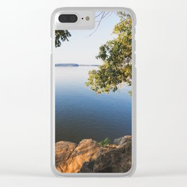 Morning on Lake Barkley Clear iPhone Case