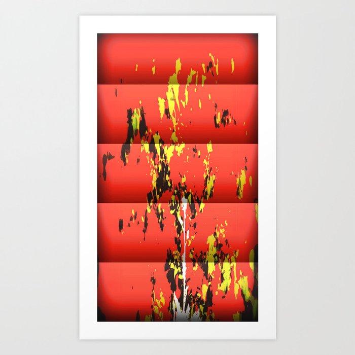 Red Power Art Print