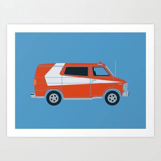 Gran Van Torino Art Print