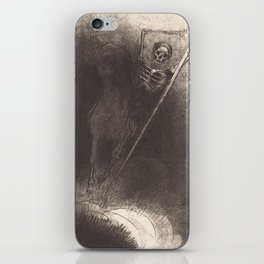 Death Illustration by Odilon Redon, 1899 iPhone Skin