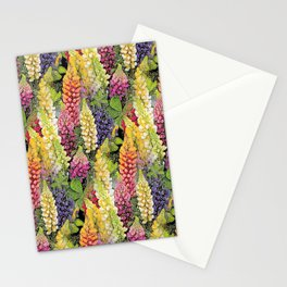 Lupine thickets Stationery Cards