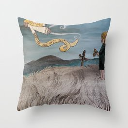 Its not over yet... Throw Pillow