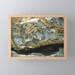 Natures Rock Monsters Framed Mini Art Print